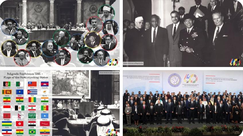 Conferencia en Belgrado a 60 años del Movimiento de Países No Alineados MNOAL (1961-2021). Por Esteban Silva Cuadra